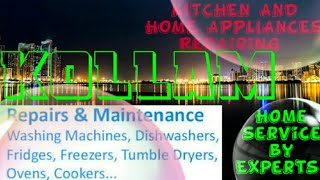 KOLLAM    KITCHEN AND HOME APPLIANCES REPAIRING SERVICES ~Service at your home ~Centers near me 1280