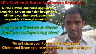 MUZAFFARPUR     KITCHEN AND HOME APPLIANCES REPAIRING SERVICES ~Service at your home ~Centers near m