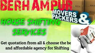 BERHAMPUR    Packers & Movers ~House Shifting Services ~ Safe and Secure Service ~near me 1280x720