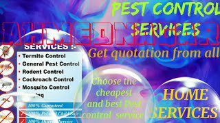 AHMEDNAGAR     Pest Control Services ~ Technician ~Service at your home ~ Bed Bugs ~ near me 1280x72