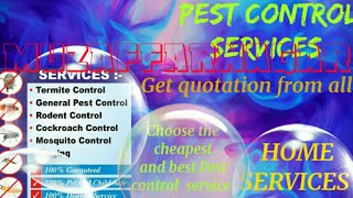 MUZAFFARNAGAR    Pest Control Services ~ Technician ~Service at your home ~ Bed Bugs ~ near me 1280x