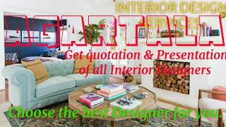 AGARTALA     INTERIOR DESIGN SERVICES ~ QUOTATION AND PRESENTATION~ Ideas ~ Living Room ~ Tips ~Bedr