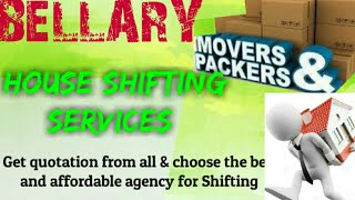 BELLARY   Packers & Movers ~House Shifting Services ~ Safe and Secure Service  ~near me 1280x720 3 7