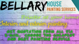 BELLARY     HOUSE PAINTING SERVICES ~ Painter at your home ~near me ~ Tips ~INTERIOR & EXTERIOR 1280