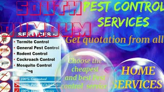 SOUTH DUMDUM     Pest Control Services ~ Technician ~Service at your home ~ Bed Bugs ~ near me 1280x