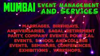 Event Management | Catering Services | Stage Decoration Ideas | Wedding arrangements |