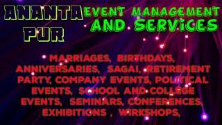 Event Management | Catering Services | Stage Decoration Ideas | Wedding arrangements |