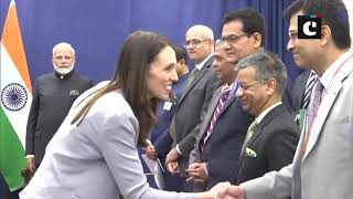 PM Modi meets New Zealand Prime Minister Jacinda Ardern in Newyork