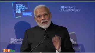 Our govt is taking big & difficult decisions to make the business environment better: PM in New York