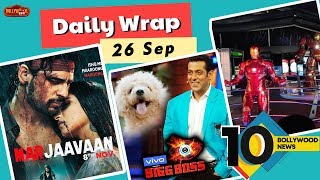 Marjaavaan Trailer Out, Avengers Station In India, A Dog In Bigg Boss 13 | Top 10 News