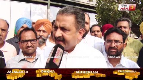 Exclusive Interview: Dakha में Captain Sandeep Sandhu की Campaign में जुटे मंत्री Vijay Inder Singla