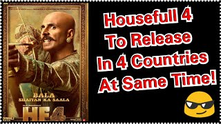 Housefull 4 Trailer To Be Released In Four Different Countries At Same Time For The First Time