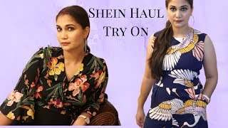 Shein Clothing Tryon Haul 2019 Party Wear Jumpsuits | Nidhi Katiyar