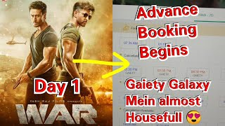 WAR Movie Massive Advance Booking At Gaiety Galaxy Theatre In Mumbai On Day 1