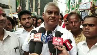 JDU protest against AAP at burari..  बुराड़ी में आप के खिलाफ जेडीयू ने किया प्रदर्शन ।