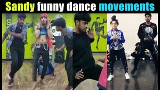 Sandy funny dance | Sandy dance collection | Sandy funny videos