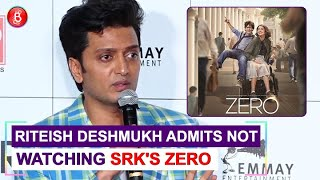 Riteish Deshmukh ADMITS Not Seeing Shah Rukh Khan's Zero | Marjaavaan