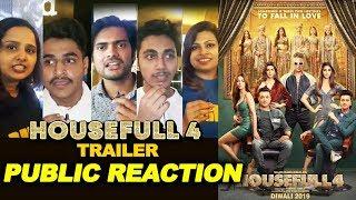 Housefull 4 Trailer | PUBLIC REACTION | Akshay Kumar, Bobby Deol, Riteish Deshmukh