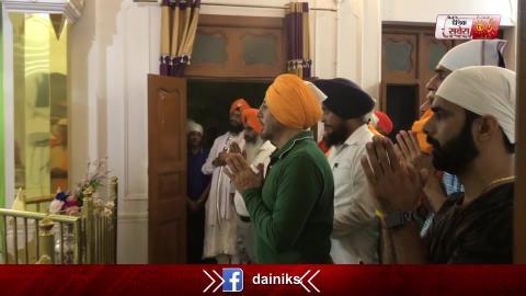 Gurdwara Sri Ber Sahib में Gurdas Maan को सिरोपा देने पर SGPC ने जताया इतराज़
