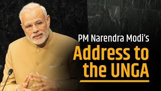 PM Modi's address to the United Nations General Assembly in New York, USA | PMO