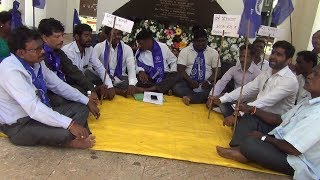 TUEM QUARRY TRAGEDY: Protestors At Azad Maidan Demand Justice, Compensation and Action