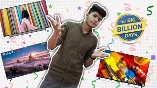 Flipkart Big Billion Days Sale l Killer offers on Smart Android TVs [HINDI]