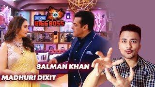 Salman Khan SHOWS Bigg Boss 13 House To Madhuri Dixit