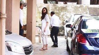 Deepika Padukone Spotted At Sanjay Leela Bhansali Office