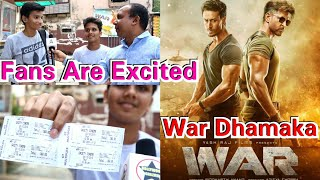 WAR Movie Excitement Among Fans In Mumbai, Booked The Show At Gaety Galaxy Theatre