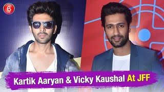 Kartik Aaryan & Vicky Kaushal Share Tips To Newcomers At JFF