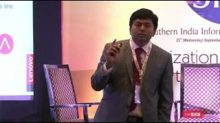 Preparing for the future :Ravi Kanakarajan - Lenovo India at SIITF 2015,Bangaluru