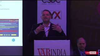 Marc Kahlberg, CEO, Vital Intelligence, Israel at Cyber Security India Conclave 2017
