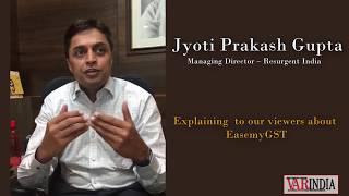 Jyoti Prakash Gupta, Managing Director - Resurgent India