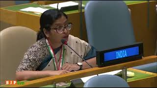 'Pakistan is home to 130 UN-designated terrorists and 25 terrorist entities' - India's reply at UNGA