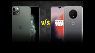 Which is a better option, iPhone 11 or OnePlus 7T?