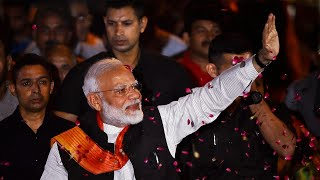PM Modi gets rousing welcome on return from US, thanks Indo-Americans for 'Howdy Modi'