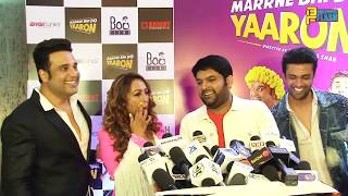 Kapil Sharma Supports Krushna Abhishek - Full Interview - Marrne Bhi Do Yaaron Film Trailer Launch