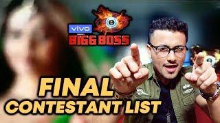 Here Is The FINAL 14 Contestant List | Bigg Boss 13 | Salman Khan Show