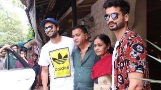 Gold Actor Sunny Kaushal Celebrate His Birthday With Brother Vicky Kaushal And Family