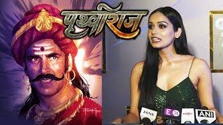 Manushi Chhillar Reaction On Working With Akshay In Prithviraj | Diwali 2020 | GQ Awards 2019