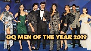 UNCUT - GQ Men Of The Year Award 2019 | Hrithik Roshan, Shahid Kapoor, Katrina Kaif