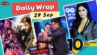 Bigg Boss 13 Premiere, WAR Vs Avengers Advance Booking, Katrina At GQ Awards | Top 10 News