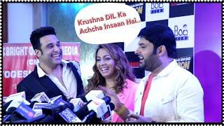 Kapil Sharma Praises Krushna Abhishek For His Talent And Hard Work