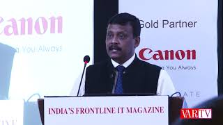 Dr. Deepak Kumar Sahu, Chief Editor-VARINDIA at 8th WIITF 2018