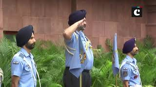 Air Chief Marshal Dhanoa demits office, Air Marshal RKS Bhadauria takes charge