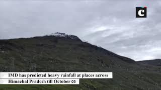 Mt Hanuman Tibba near Manali receives fresh snowfall