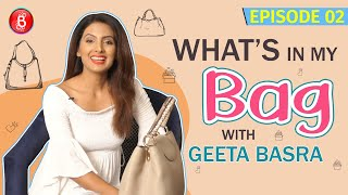 Geeta Basra Wants To Know What The British Queen Has In Her Bag | What's In My Bag?