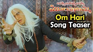 Om Hari Song Teaser | Ammalaganna Amma Mulaputamma Movie Video Songs