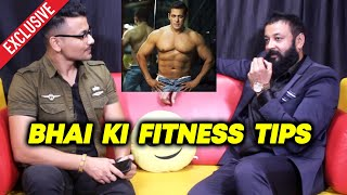 Dabangg 3 Actor Santosh Shukla On Salman Khan's FITNESS TIP And Inspiration