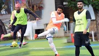 Ranbir Kapoor, Arjun Kapoor, Abhishek Bachchan And Other Playing Football